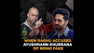 When Raghu Accused Ayushmann Khurana of Being Fake on Roadies