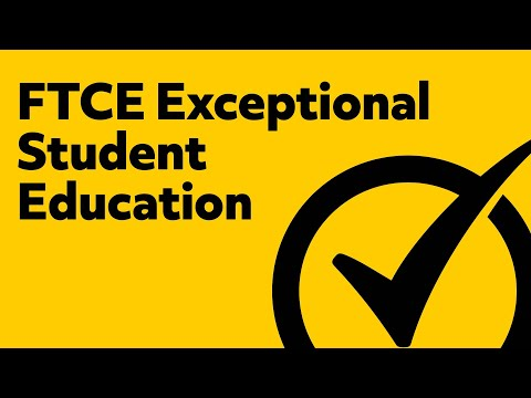 FTCE Exceptional Student Education K 12 Practice Test YouTube
