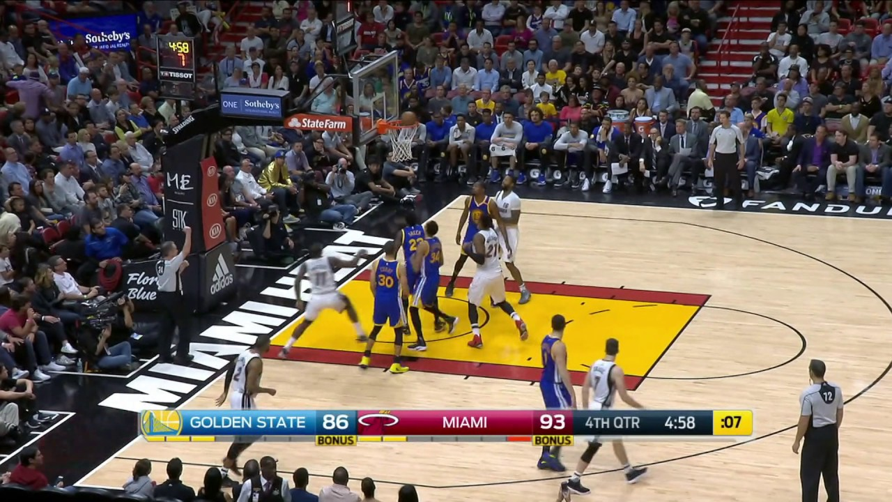 golden-state-warriors-vs-miami-heat-january-23-2017-nba-2016-17-season-youtube