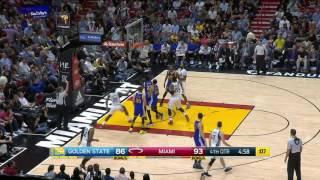 Golden State Warriors vs Miami Heat | January 23, 2017 | NBA 2016-17 Season