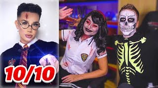 RATING YOUTUBER HALLOWEEN OUTFITS