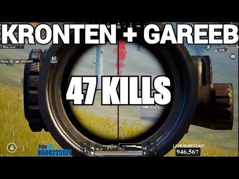 47 KILLS IN 1 MATCH | Kronten + Gareeb FULL SQUAD RUSH GAMEPLAY | PUBG MOBILE