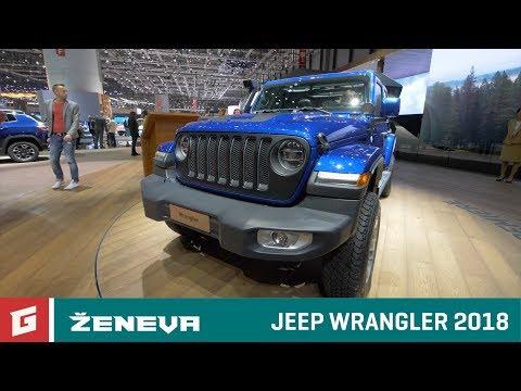 Jeep Wrangler 2018 - GARÁŽ.TV - Autosalón Ženeva