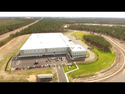 Pender Commerce Park Drone Video