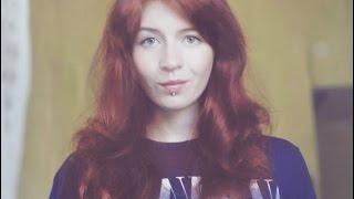 Рыжая хна на окрашенные волосы