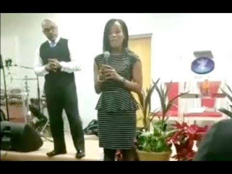 Woman Exposes Her Mom Boyfriend During Church Testimony.