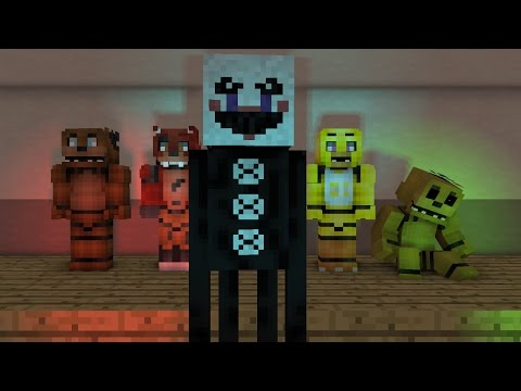 """FNAF2 """"Its Been So Long"""" Minecraft Animation"""