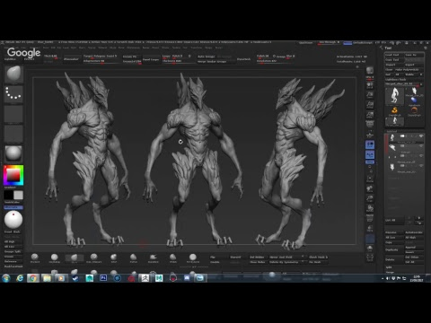 Zhur - 3d Creature modeling - Gilberto Magno