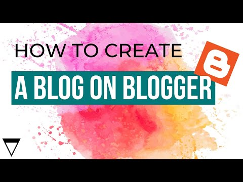 How to Create a Blog on Blogger - 2013...