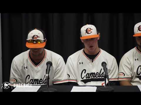 Campbell Baseball Vs Quinnipiac | Press Conference