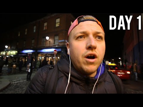 DUBLIN, IRELAND WITH NO MONEY - DAY 1