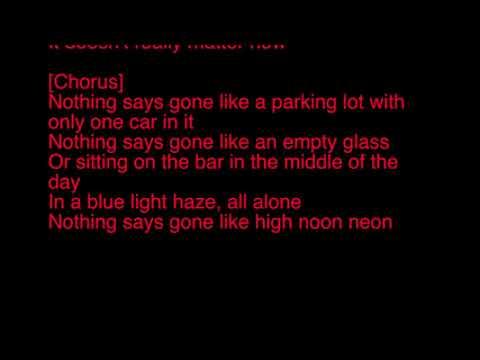 Jason Aldean High Noon Neon Karaoke