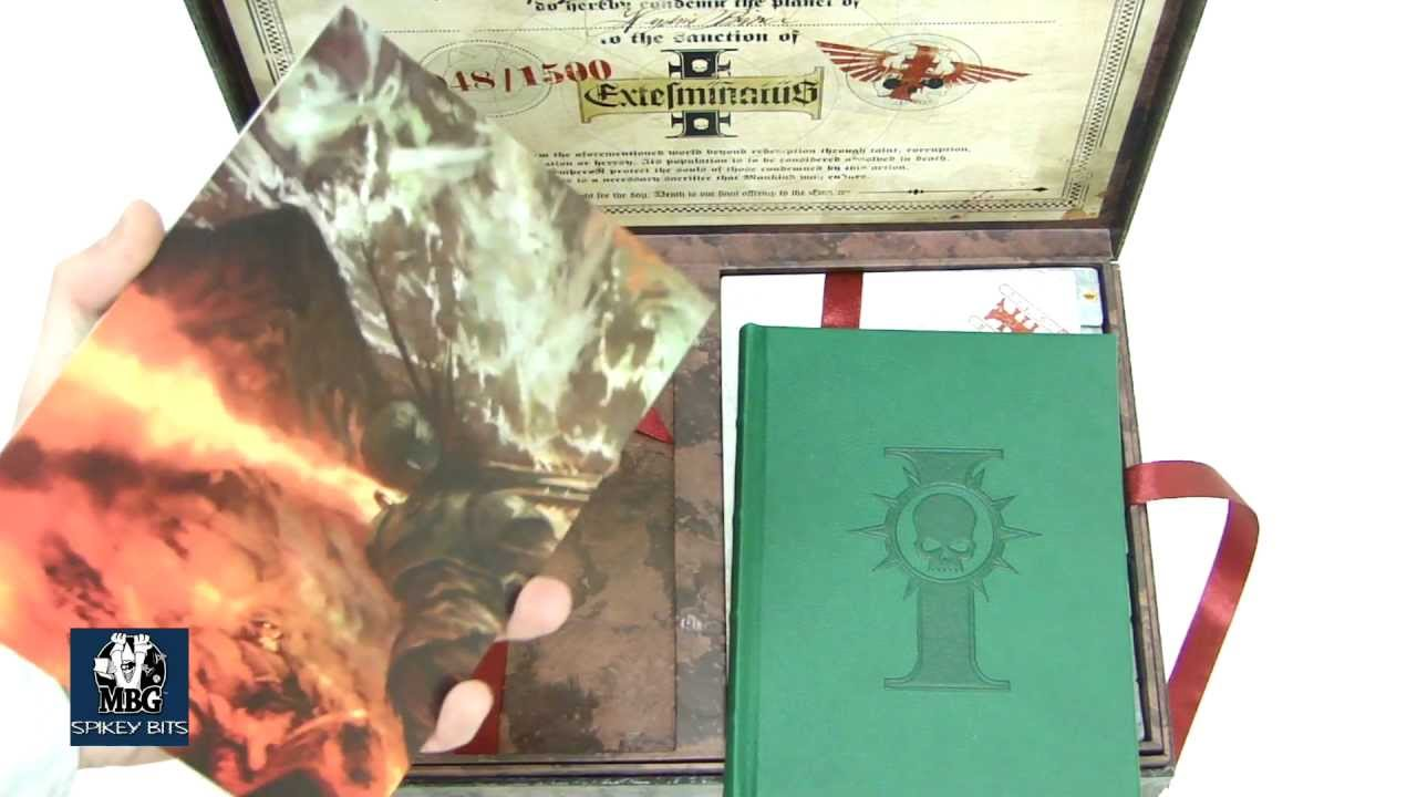 New Warhammer 40k Apocalypse Collectors Edition Unboxing