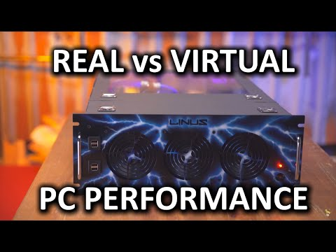 Real Computer vs Virtual Computer Performance Showdown