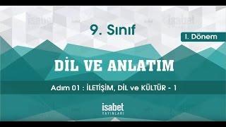 9. Sınıf Dil ve Anlatım – Ders 1 – İLETİŞİM, DİL VE KÜLTÜR 1