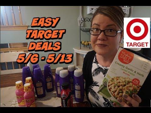 TARGET DEALS (5/6 – 5/12) ~ FREE FOOD & Super Cheap Shampoo!