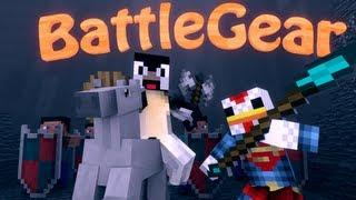 Dual Wield Mod: Minecraft Mine and Blade Battlegear 2 Mod Showcase!