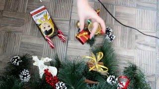Сладкие Новогодние подарки(Простые идеи сладких новогодних подарков и их оформление. Огромное спасибо за просмотр, ваш кахатарыч =), 2015-12-09T15:29:04.000Z)