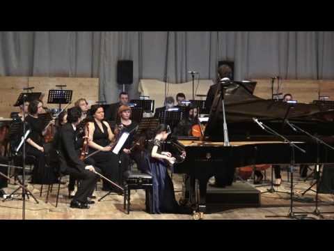 11.03.2017 Alexandra Dovgan' performance at the Ufa Art College, Ufa