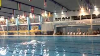 Анфиса Арасланова 2007 год рождения , синхронное плавание первенство московской области 12.03.2016