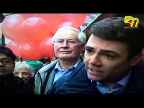 Andy Burnham in Oldham