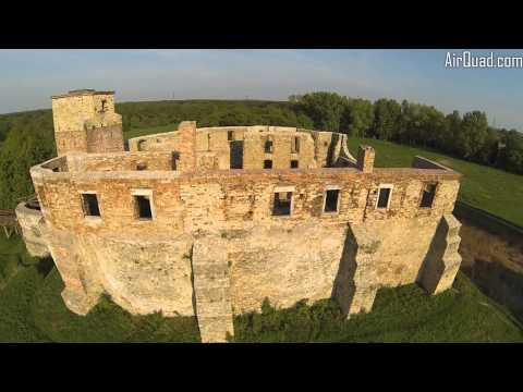 Aerial Video Siewierz Castle - Poland by AirQuad Drone Team