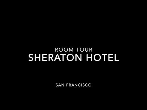 Sheraton Hotel Room Tour - Fisherman's Wharf, San Francisco