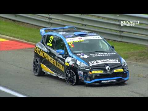 Coupe de France Renault Clio Cup : SPA course 1 (2015)