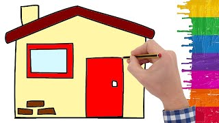 Ev Nasıl çizilir - How To Draw A House