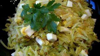 Вкусный салатик из простых продуктов, а самое главное без майонеза!