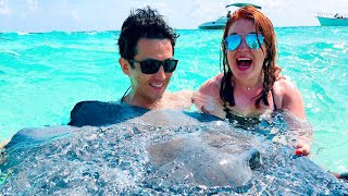 We swam with Stingrays in Grand Cayman! | Disney Cruise Line Vlog | Disney Magic | May 2018