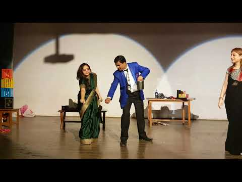 The Great Indian Magic Show at Cambridge foundation school New Delhi Upendra Thakur