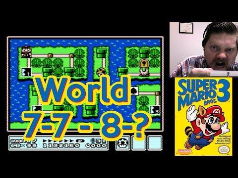 Super Mario Bros. 3, World 7-7 - 8-? | VGHI Play 'n' Chat Live Stream