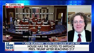 Guest on Fox News During House Impeachment Vote