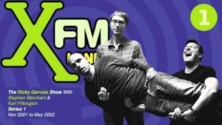 XFM The Ricky Gervais Show Series 1 Episode 19 - Ricky just gives it cheese