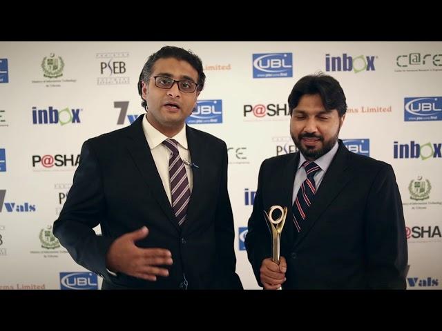 Contegris Pvt Ltd Intellicon at P@SHA ICT Awards 2017