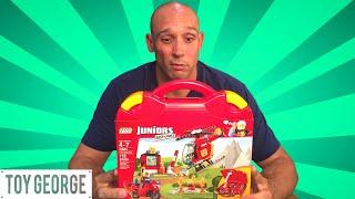 Duplo Lego Junios Fire Suitcase 10685 Unboxing & Reviews
