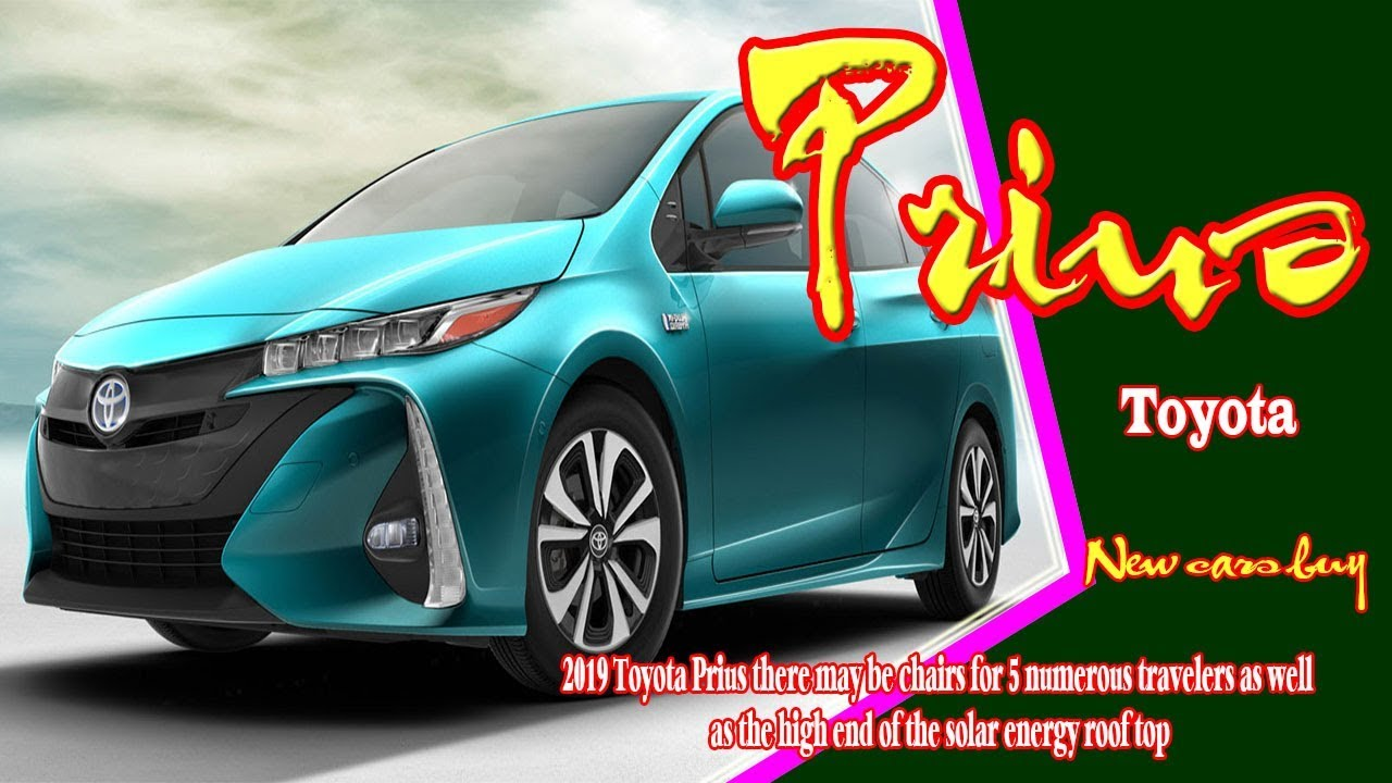 2019 Toyota Prius Suv Colors New Cars