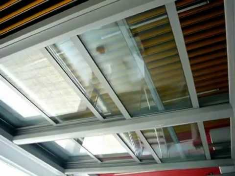 Loom Crafts Retractable Flat Sliding Roof With Glass Wmv