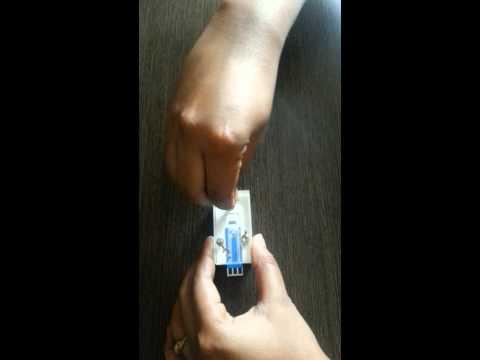 Screen printed electrode