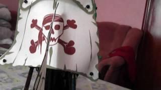 Конструктор BRICK 311 Пиратский корабль 487 деталей