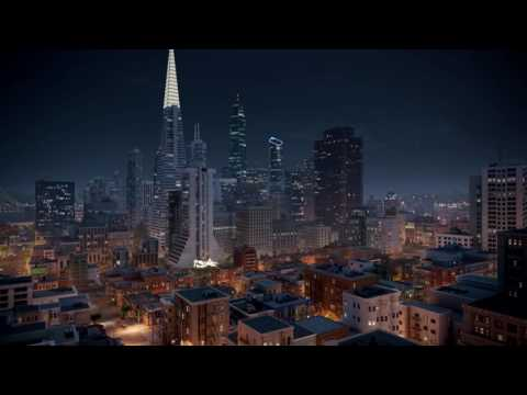 Watch Dogs 2 - San Francisco 24-Hour Timelapse