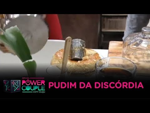 Pudim de Letícia causa discórdia no Power Couple Brasil
