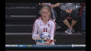 Cover images Stanford v  Loyola Marymount, 12/01/18, Women's Volleyball