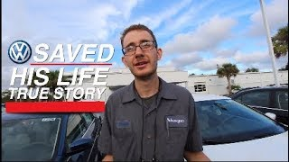 Volkswagen Saved his Life - 2 TIMES | Safety Should Always Come 1st