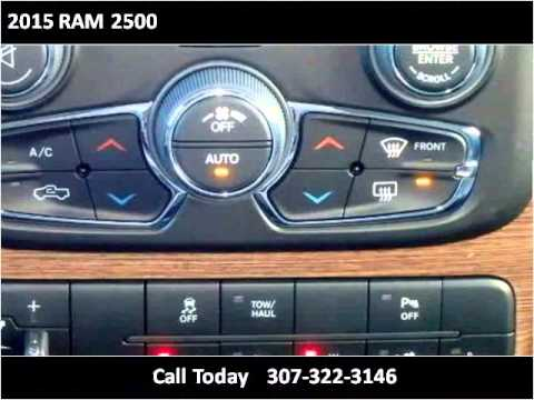 2015 Ram 2500 New Cars Cheyenne Wy Youtube