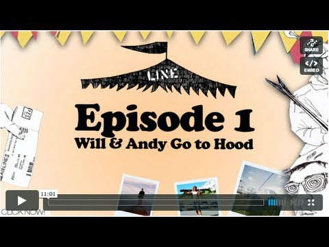 LINE Traveling Circus 1.1 - Will & Andy go to Hood