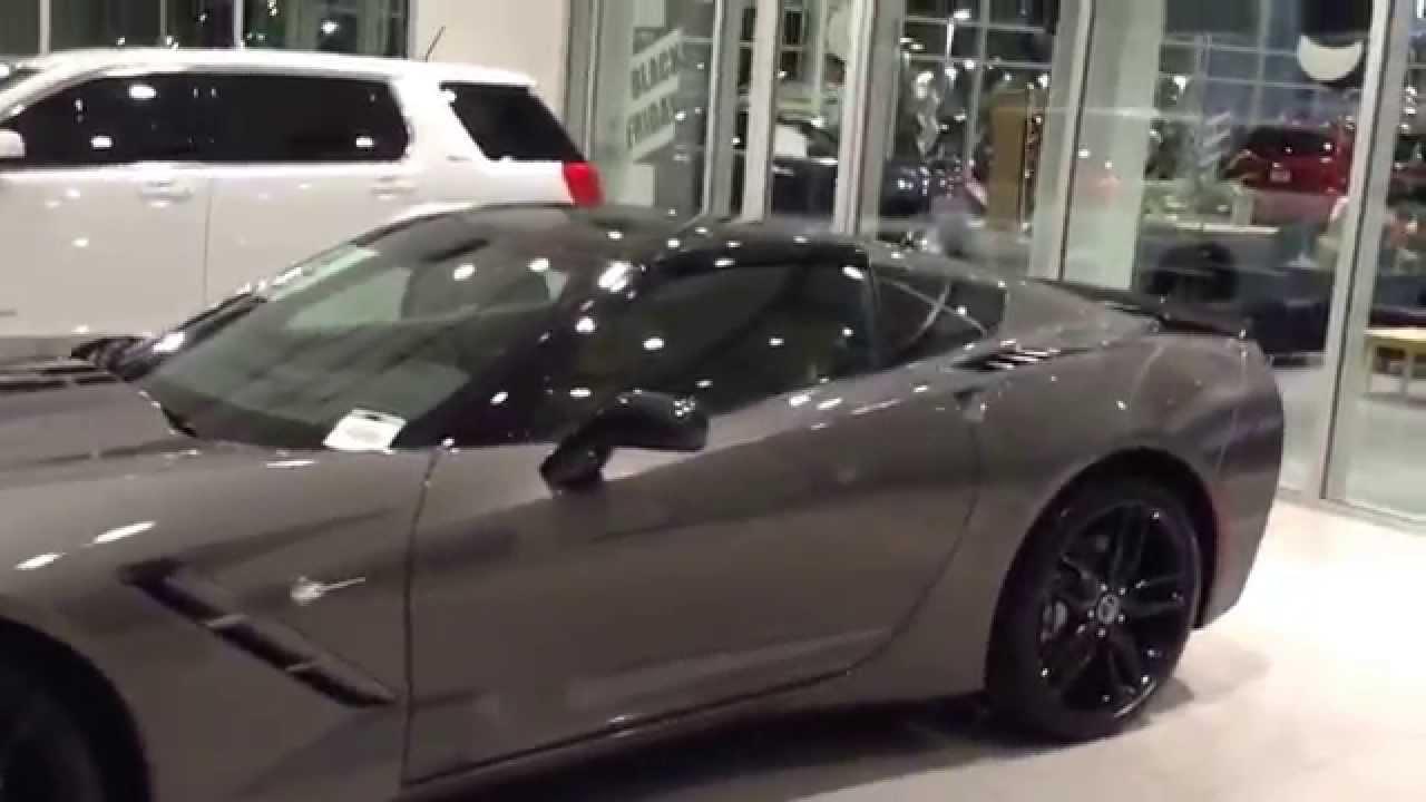 2015 Corvette C7 2lt Shark Gray Kalahari Interior Fwy Las