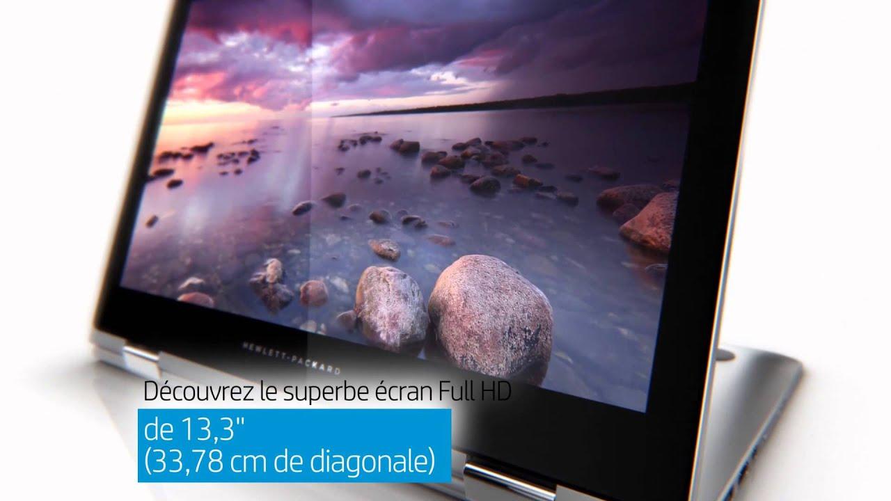 hp 13 4070nb pc portable tablette pc 2 en 1 vid o produit youtube. Black Bedroom Furniture Sets. Home Design Ideas