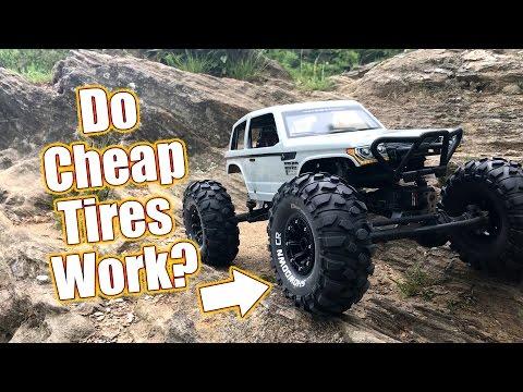 Cheap Crawler Tires With Grip - Duratrax Showdown CR Tires